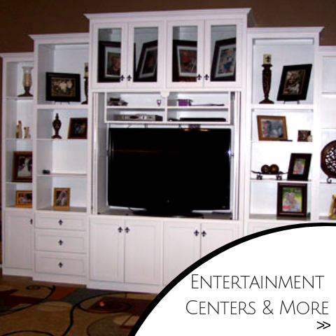 Entertainment centers and additional fixtures