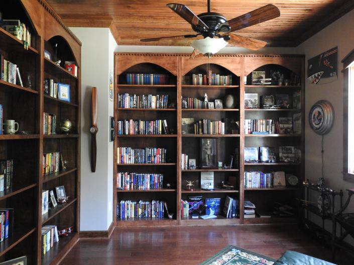 Custom Bookcases]